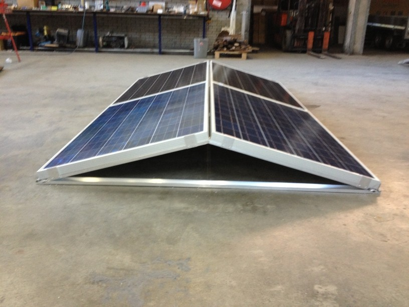 Bestel hier beugels voor zonnepanelen in een oost west orientatie