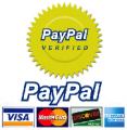 PayPal logo Tonca Trading / WestlandSolar.nl / AluminiumShop.nl / GlasStore.nl