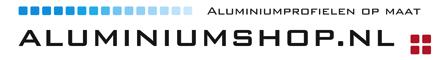 Aluminium profielen bestellen en aluminium profielen kopen bij AluminiumShop.nl